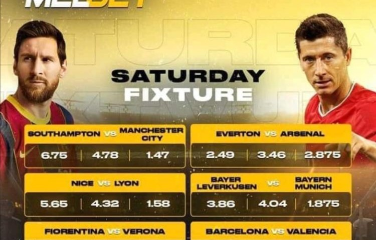 Live Game: MELBET Uganda Pours Millions Into Everton, Arsenal Match