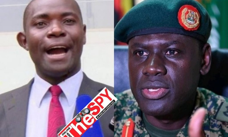 You're Trained To Kill: Lawyer Mabirizi Moves To Block Appointment Of Gen.Paul Lokecho As DIGP