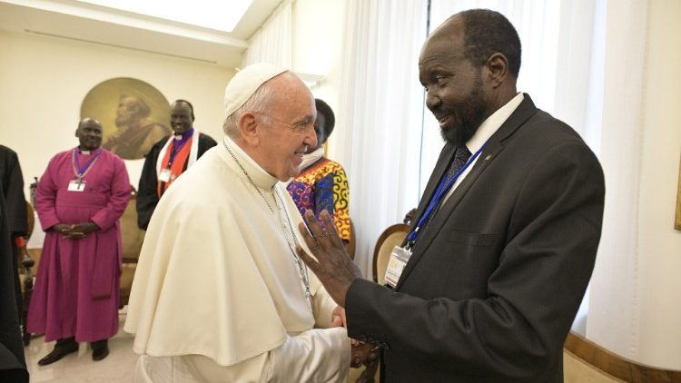 Stop Your Useless Foreign Sponsored Fights & Work On Peace Process-Pope Tells S.Sudan Leaders In Christmas Message