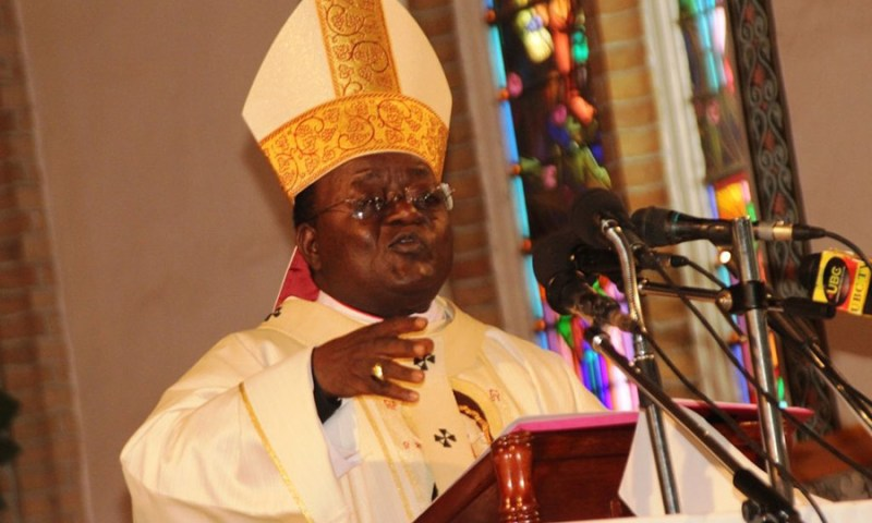 God Wants Peace Not Violence- Archbishop Lwanga's Preaches Ahead Of 2021 Elections