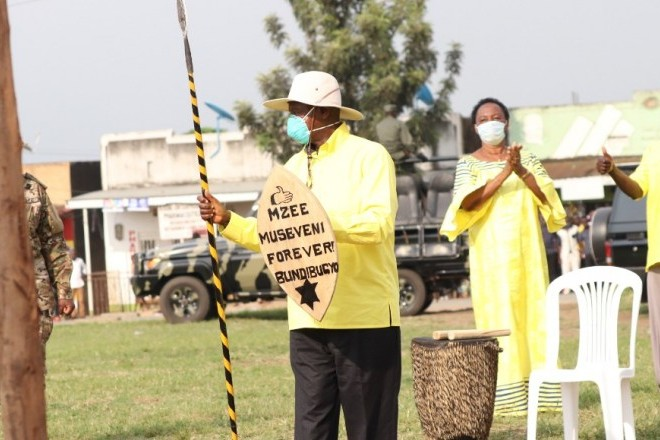 """NRM Is Ready To Crush Those Smoking On Our Electricity & Think Can Lead Uganda""-Museveni Hits Back At Opponents"