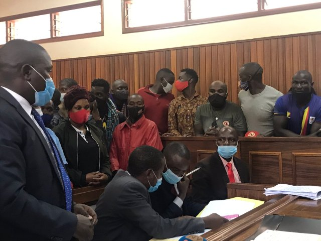Appreciate Us For Securing You From The Election Aftermath Since Jail Is Safer For You Guys: Eddy Mutwe, Other Top Bobi Security Team Remanded Till After Elections