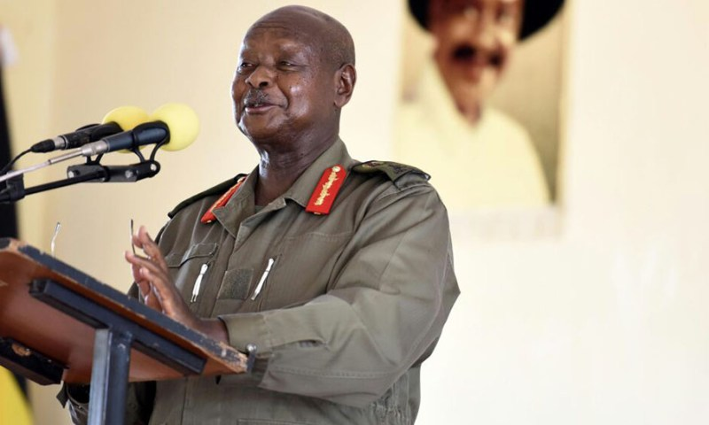Look For Popularity Through Fighting Corruption-Museveni Tips MPs