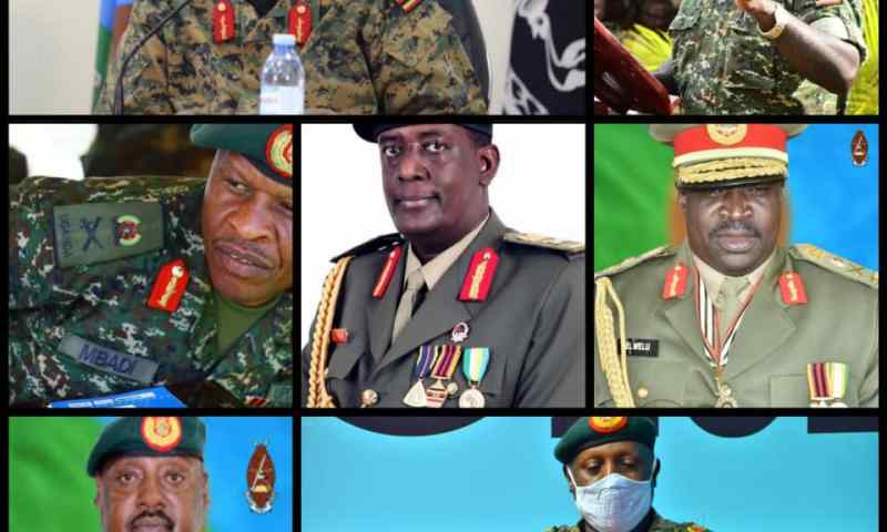 Enough Of War Veterans: Gen.Elly Tumwine Thrownout Of Parliament As Fresh Blood Generals; David Muhoozi, Elwelu Make Triumphant Entry!
