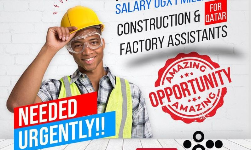 Job Slots! Construction, Factory Assistants Urgently Needed In Qatar