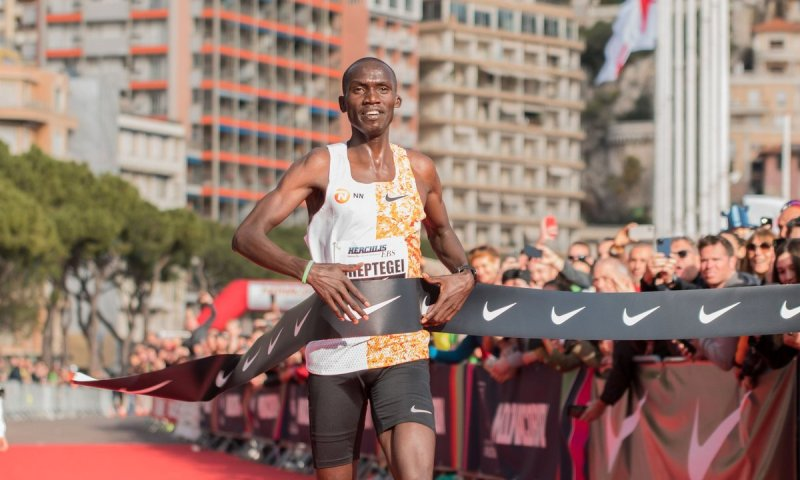 World Athlete Joshua Cheptegei Again Scoops Monaco Run Title