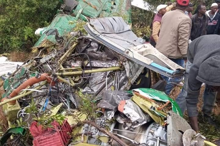 Two Dead As Plane Carrying National Exams Crash!
