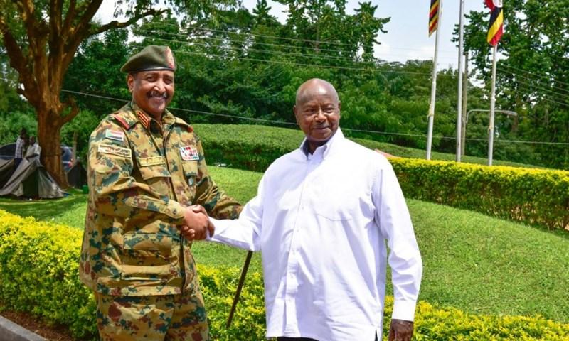 Exclusive: Gen.Museveni, Minister Kutesa Meet Sudanese Top Gen. Fattah Al-Burhan