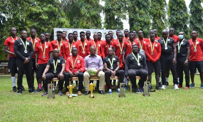 Your Performance Is Worth Celebrating: FUFA Rewards Hippos Team With $160000 & Mega Luncheon