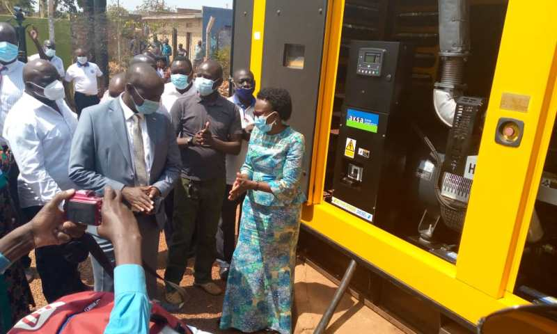 NWSC Installs Multimillion High Capacity Lift Pumps, Generators In Lira To Boost Water Supply