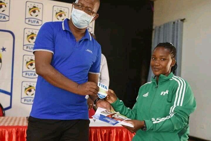FIFA Awards 23 Ugandan Referees With Badges