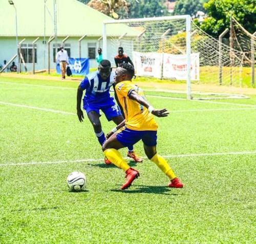 Sadat Anaku's Hat-trick Leads To KCCA's Win Against Busoga United