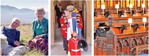 Grief As Queen Elizabeth II Lays To Rest Her 'Strength' Prince Philip