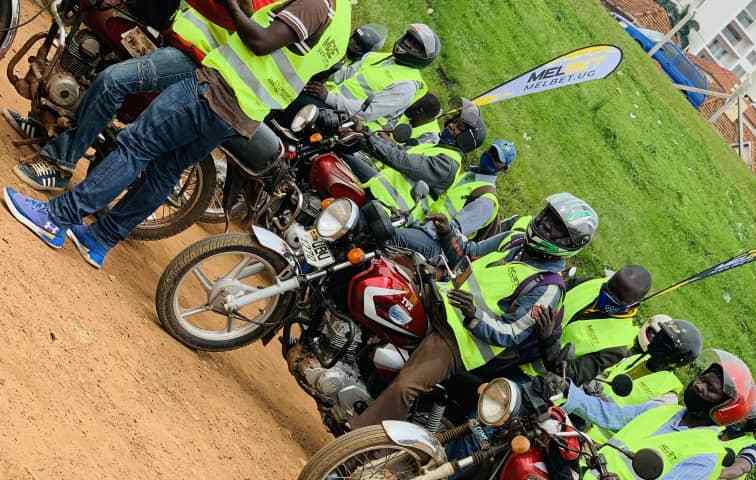 Thanks For Making Us Uncompeteable: Big Hearted Melbet Uganda Thrills Bodaboda's With 10000 Reflector Jackets