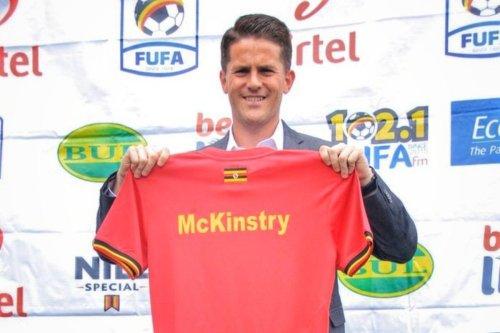 Enough Of Comedy Here Guys, I'm Out: Uganda Cranes Coach Jonathan Mckinstry Resigns!