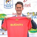 Enough Of Comedy Here Guys, I'm Out: Uganda Cranes Coach Jonathan Mckinstry Resigns!