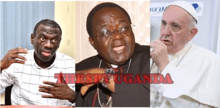 """""""Send Scotland Yard Investigators To Investigate Cause Of Death Of Your Loyal Servant""""-Col.Kiiza Besigye Besieges Pope Not To Trust Police Report On Death Of Archbishop Lwanga"""