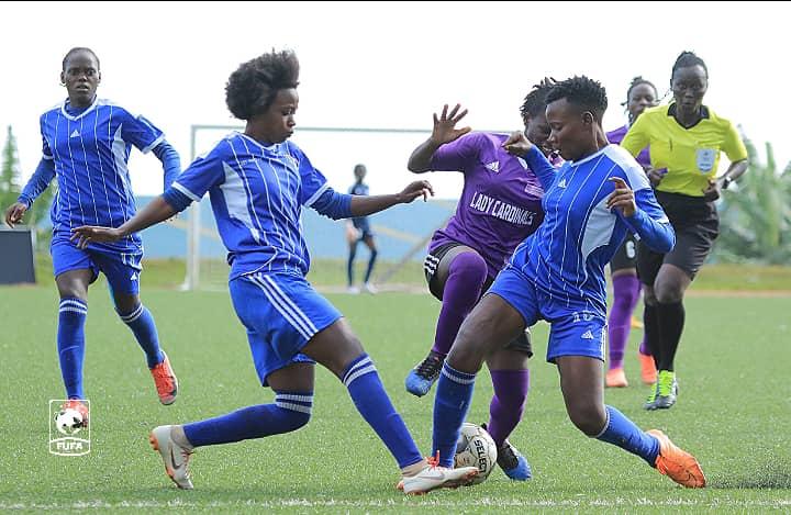 FUFA Women Super League: UCU Lady Cardinals Scoop Victory Against Lady Doves At 2-1