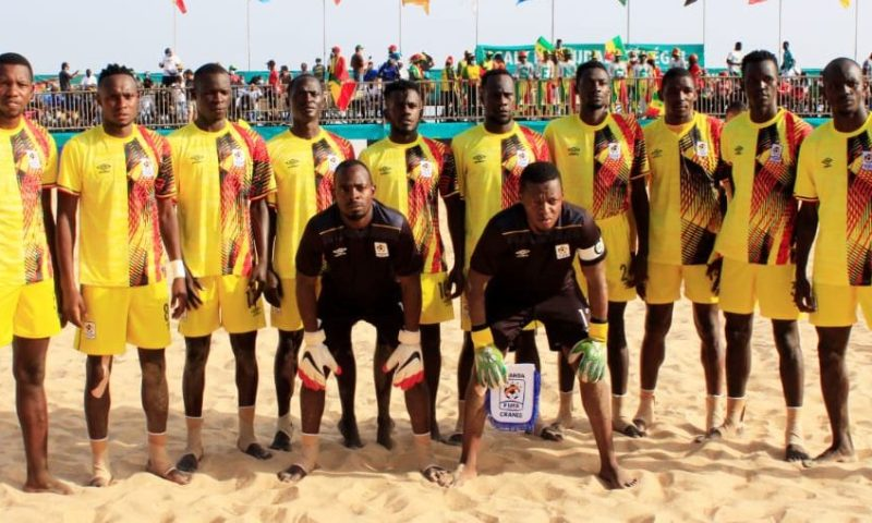 Uganda Sand Cranes Fall Short Of FIFA World Cup Dream After Heartbreaking 6-3 Loss To Mozambique