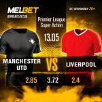 You Can't Miss Winning This! Melbet Shoots ODDs High As Manchester United Battles Liverpool Tonight, See Lineup