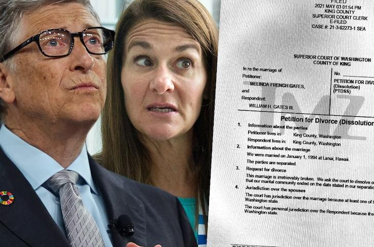 Billionaire's Family Splits: Bill & Melinda Gates File For Divorce After 27 Yrs Of Bonking