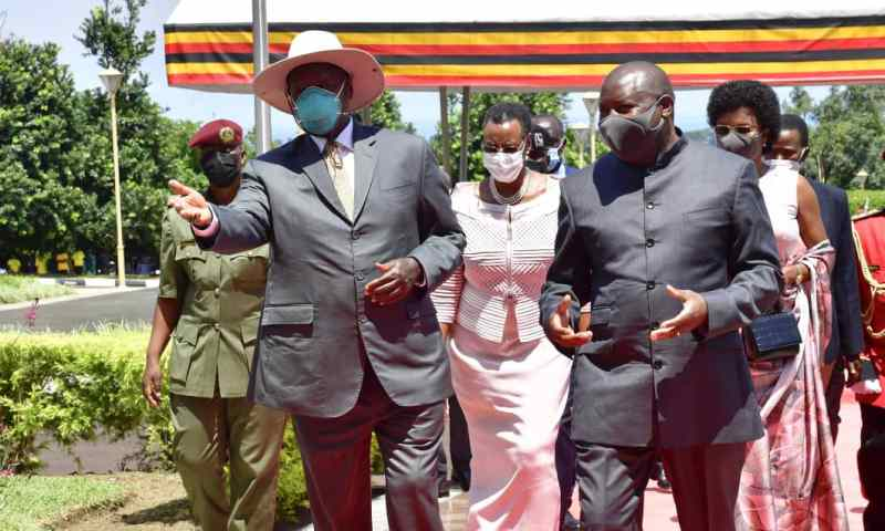 Museveni, Ndayishimiye Discuss Infrastructure Connectivity, Security Cooperation