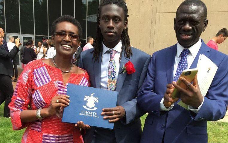 Jubilant Kizza Besigye Celebrates Son For Graduating With Distinction From Harvard University