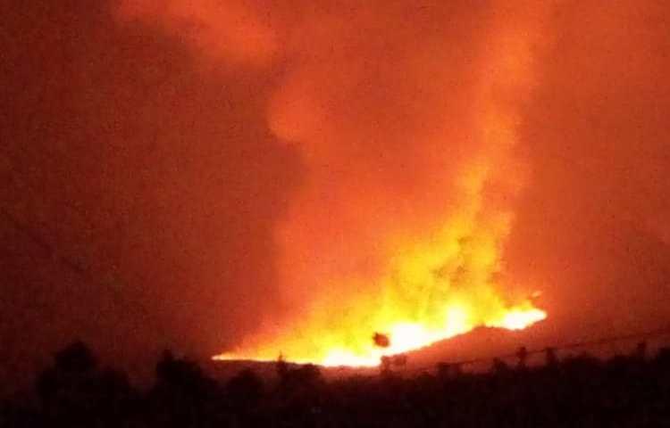 Update: Tens Die, Over 8,000 People Cross From DRC To Rwanda Over Deadly Volcano