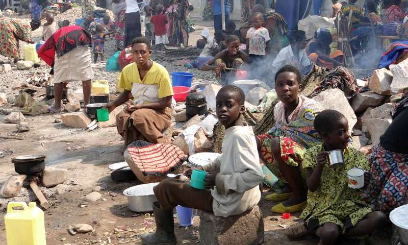 Thousands Starving In DRC Flee To Rwanda Amid Fear For Second Volcanic Eruptions