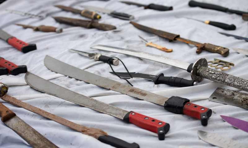 Heartless 18 Year Old Slaughters Five After Launching Machete Attack At A Nursery School