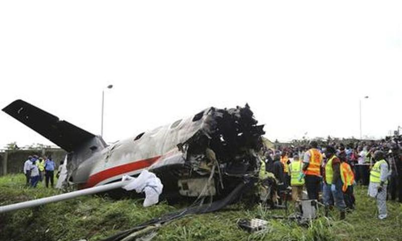 Top Army Commander, 10 Others Killed In Air Force Plane Crash