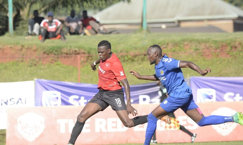 Stanbic Bank Uganda Cup: Express FC Conquers URA FC In First Leg Of Round Of 16