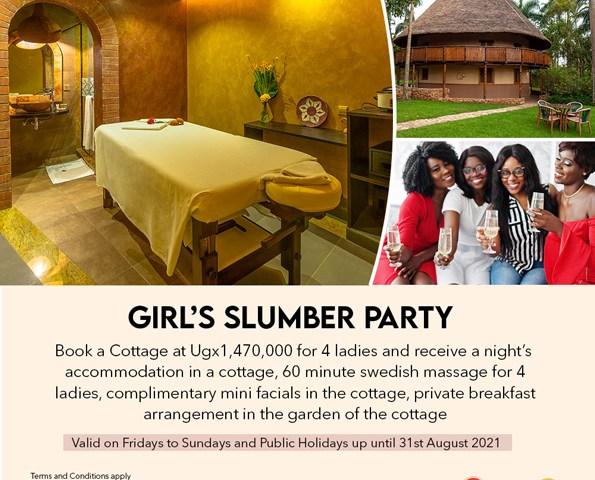 City Partiers On Cloud 9 As Classy Speke Resort Munyonyo Unveils Lavish Girl's Slumber Party