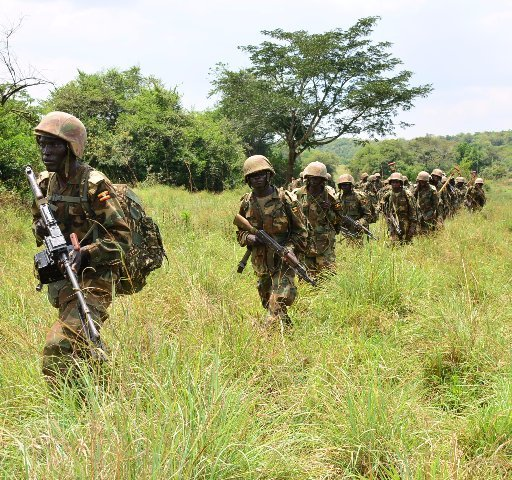 UPDF Guns Down Four Congolese Rebels Disguising As Forest Workers In Zombo