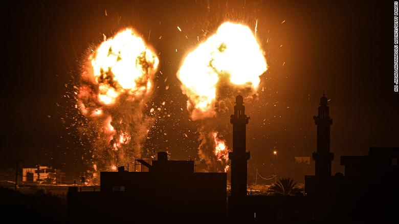 Israel Responds To Palestine's Fire Balloons With Deadly Air Strikes As Cease Fire Flops