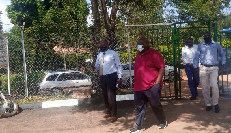 Most Feared City Bailiff Kirunda Recently Arrested By Col.Edith Nakalema Finally Produced Before Makindye Court Over Murder