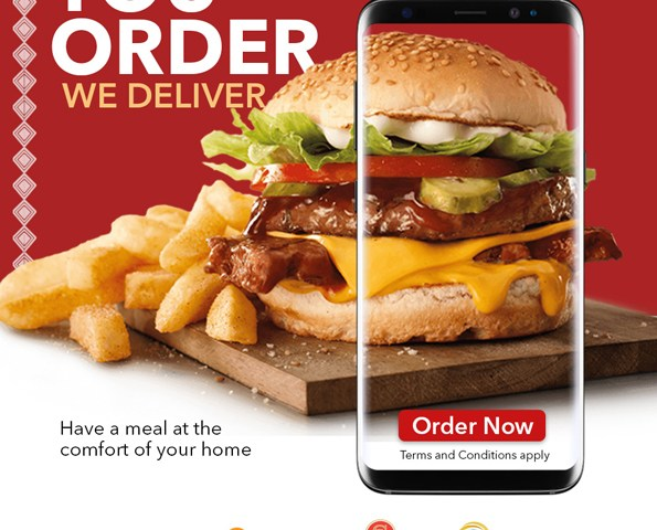Why Bother Yourself? Just Sit At Your Home & Have Your Order Delivered-Speke Resort Munyonyo