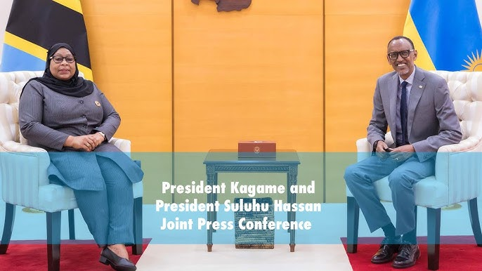 Relationship Tightened As Kagame, Suluhu Ink Four Fresh Agreements, Railway & Technology Prioritized