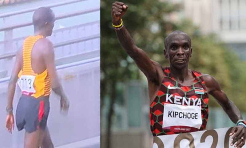 Tokyo: Uganda's Kiprotich Suddenly Falls Off Race, Gives Way To Kenya's Kipchoge To Cement Legacy As Greatest Marathon Runner