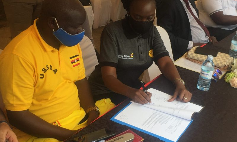 Deal Sealed: Uganda Airlines Inks MoU With FMU As Official Carrier Partner