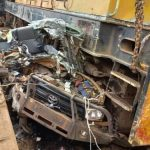 Terrible Accident: Two UPDF Officers Ram Into Train Fleeing After Knocking Three Dead