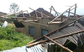 Acres Of Food Crops, Houses Destroyed As Heavy Rains Hit Kisoro, Kibaale, Kagadi & Kakumiro Districts