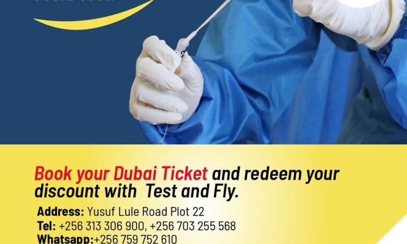 Finally! Uganda Airlines Takes Off To Dubai With Travelers Scooping 40% Discount On COVID-19 Test Fees