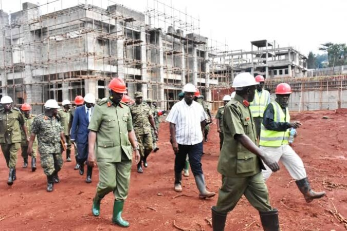UPDF Takes Over Construction Of Gov't Hospitals As CAOs & Town Clerks Become 'Morale-Boosters'!