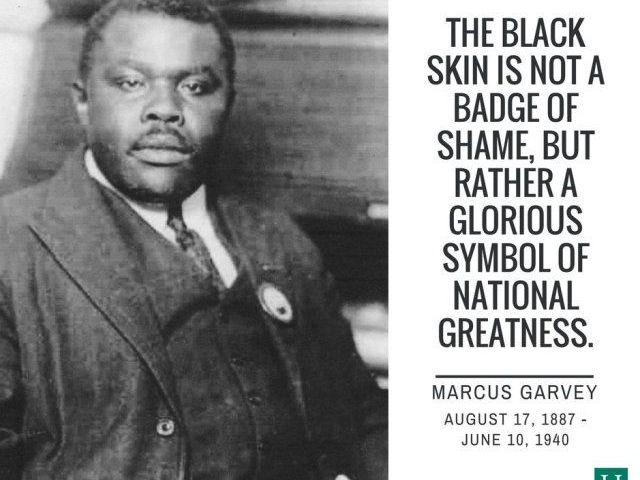 Black's History: Marcus Garvey-Pan Africanism Journalist Turns Celebrated Freedom Fighter