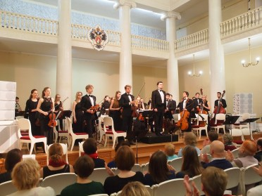 Taurisches Orchester in St. Petersburg