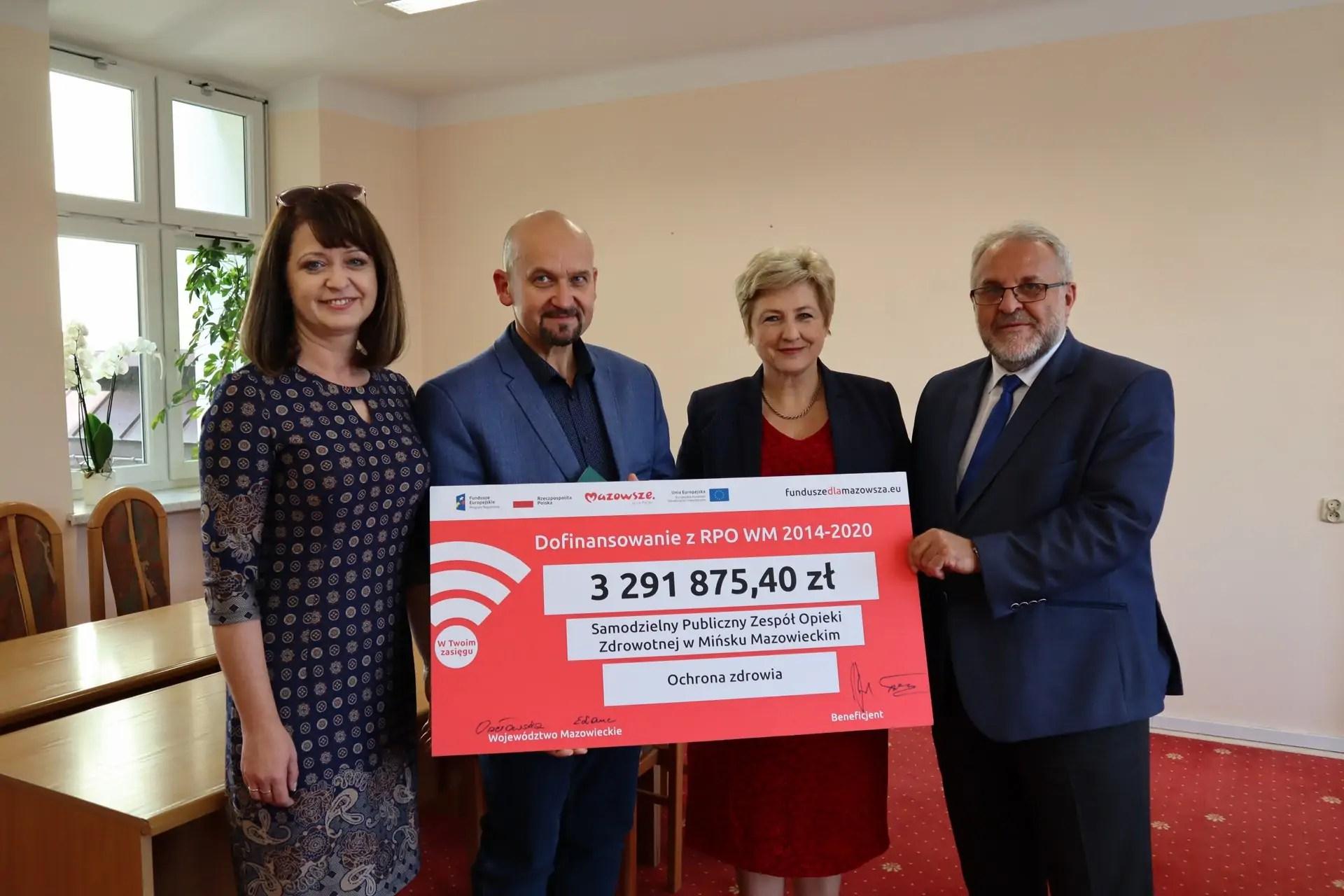 Nowoczesny sprzęt medyczny w SPZOZ w Mińsku Mazowieckim