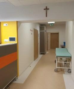 Blok porodowy – korytarz