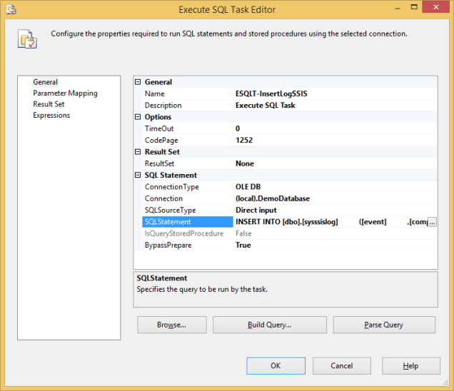 Log SSIS Variable Value 8 - Event Handler - ESQLT 1