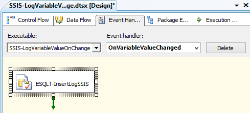 Log SSIS Variable Value 8 - Event Handler